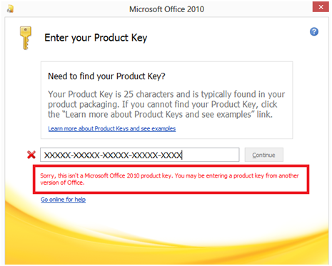 microsoft office 2010 activation error code 0xc004f074