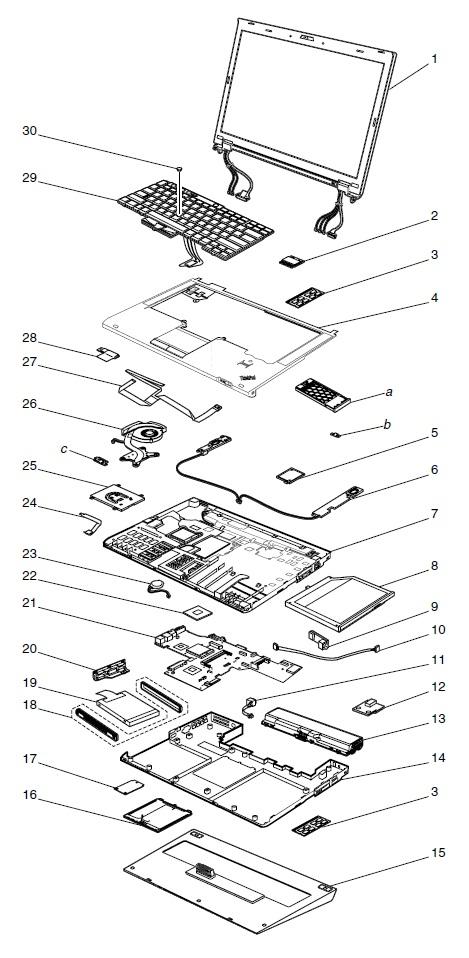 system service parts - thinkpad t420  t420i