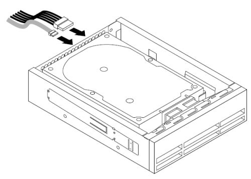 installing the tertiary hard disk drive