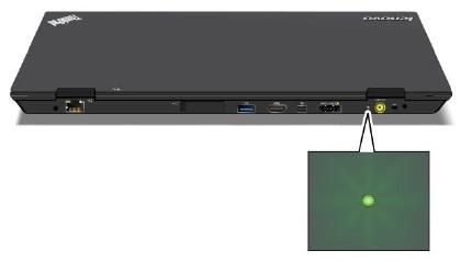 Status indicators - ThinkPad X1, X1 Hybrid - US