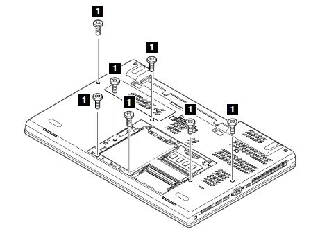 removal and installation steps of the keyboard bezel