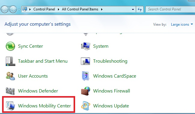 how to change slideshow settings windows 7