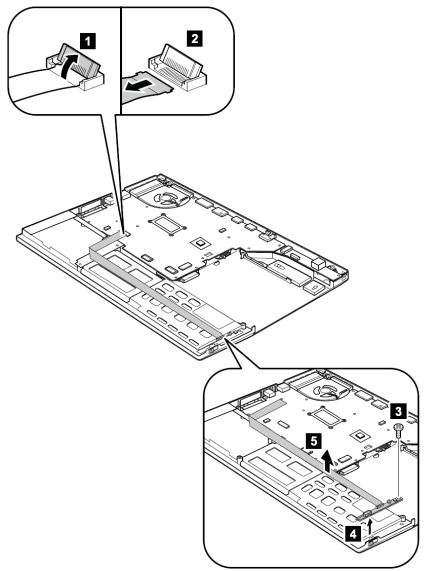 Bluetooth-wireless radio switch FPC removal and