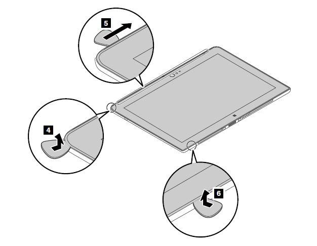 Back cover embly - ThinkPad 10 (20E3 and 20E4) - US on